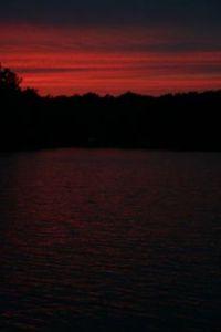 Sunset on Lake Gaston