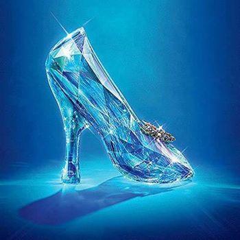 Blue-ti-ful Crystal Slipper