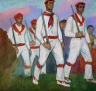 Aurelio Arteta (Spanish/Basque, 1879–1940), Ezpatadantzariak (Sword Dancers) (1913)