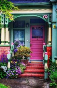 Painted Lady, Ferndale, California