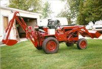 Homemade Backhoe