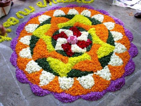 Floral Carpets in India