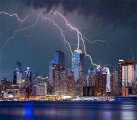 New York Lightning Storm