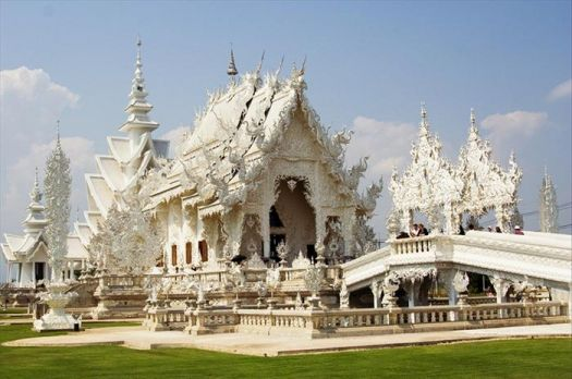 The White Temple of Thailand..