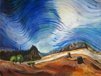 Emily Carr--Above the Gravel Pit