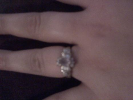 look who just got engaged :D
