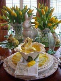A Pretty Easter Table