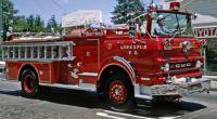 GMC fire truck, Larkspur Calif.