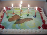 marys bd cake   april 2012