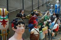 A collection of figureheads (2)