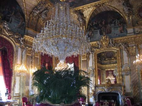 Napoleon Salon, State Apartments, Louvre, Paris (large)