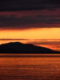 Awesome Alaskan Sunset