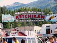 First Port of Call - Ketchikan Alaska