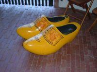 Large Wood Shoes