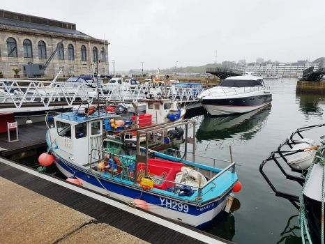 Royal William Yard Boats