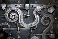 antique door lock from London