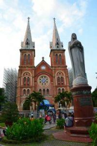 Saigon Notre Dame Cathedral, Vietnam