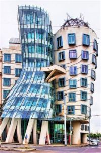 """The Most Beautiful Buildings in the World: The """"Dancing-House"""" - Prague, Czech Republic"""