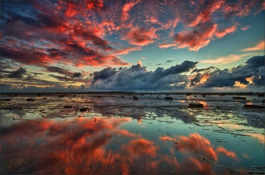 Red Reef Sky - photog unknown