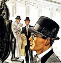 Mallory Hats Ad