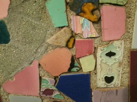 Watts Towers tiles