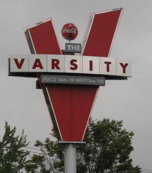 The Varsity in Atlanta..Worlds Largest Drive-In