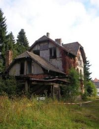 Ruin in the Harz Mountains