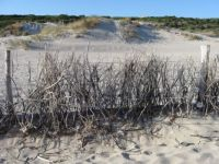 Light-gray sands of Rena Majore, Sardinia Italy
