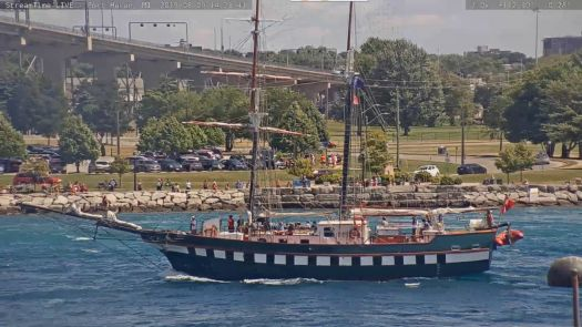 Fair Jeanne (CA) - Tall Ship - Port Huron, MI (2019-08-09)