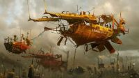 1280x720_9662_On_Tow_2d_fantasy_airships_steampunk_picture_image_digital_art