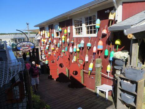 Fun building in Bar Harbor, Maine.