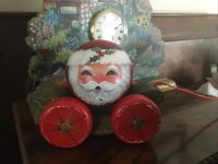 Santa pull toy