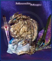 Gold Dragon Blue (Large)