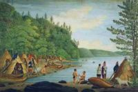 Theme:  Western Abenaki Village on the Lake