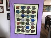 coffee cups quilt