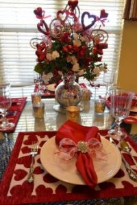Valentine Day Table