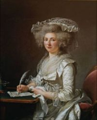 ca 1787 Portrait of a Woman Adélaïde Labille-Guiard