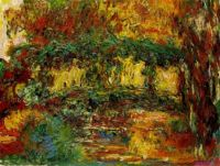 Claude Monet - The Japanese Bridge, Giverny,  1918 - 24  (Apr17P02)