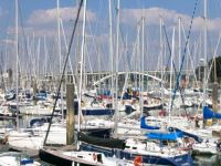 La Trinité-sur-Mer, a forest of masts for the sadists