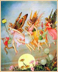 When the Fairies Came (smaller size)