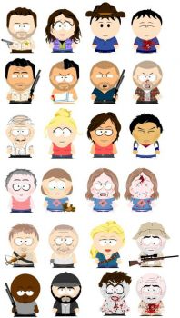 The Walking Dead South Park