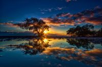 *3.  ~   'Gorgeous Reflected Blue Sunset.'