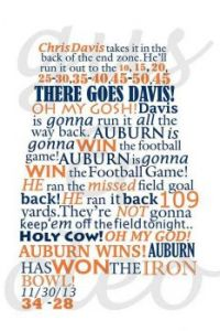 Iron Bowl Winner