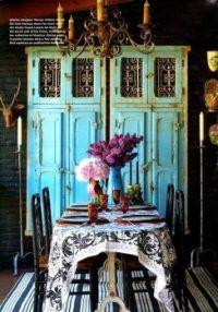 Blue Parisian Doors