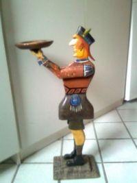 Old wood figure