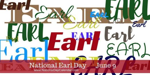 Today Is National Earl Day!!
