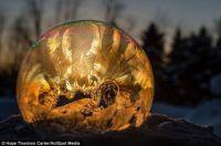 Frosty Snow Globe 6