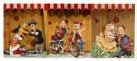 "Hake's - ""IT'S HOWDY DOODY COLOR TV TIME"" PICTURE SET-2"