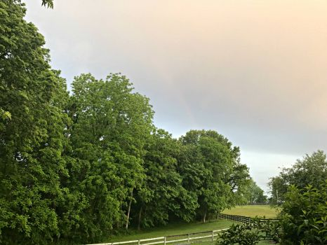 Morning glow and rainbow-4032x3024