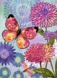 Beautiful Butterflies & Blooms Series